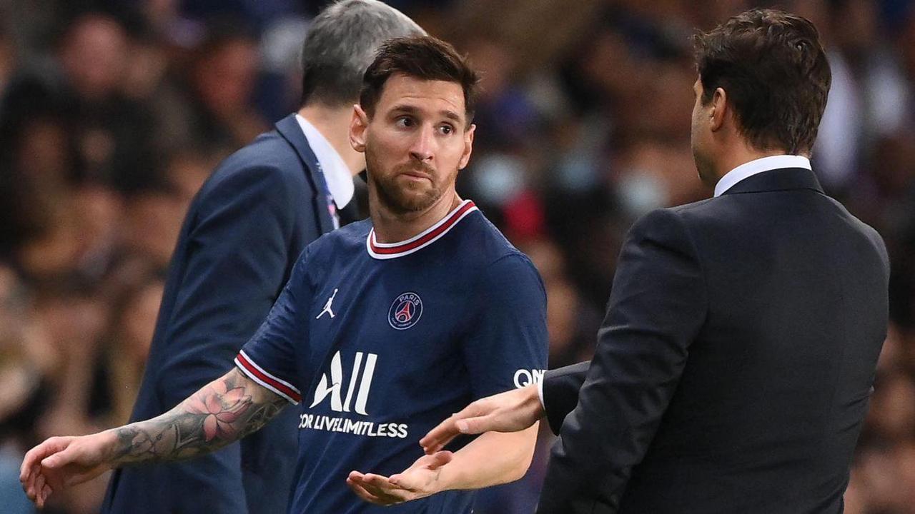 PSG: Messi, blessé, forfait mercredi à Metz