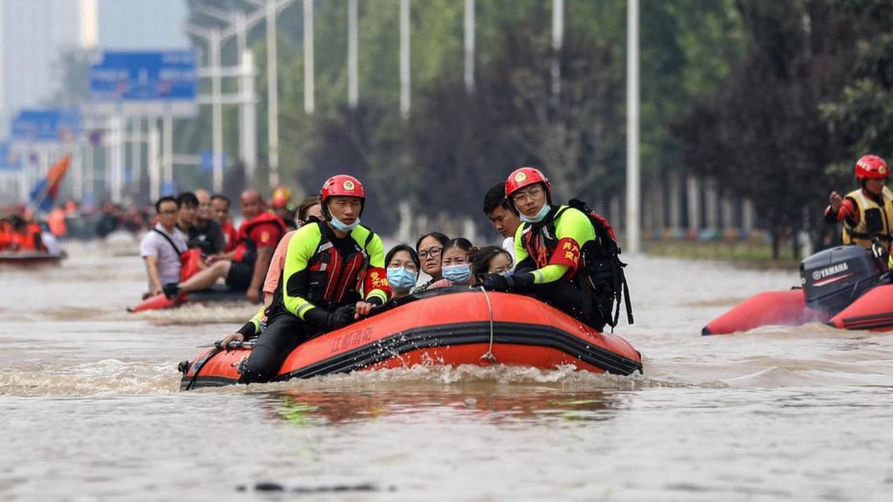 «Crues du Millénaire» : les inondations font plus de 300 morts en Chine centrale, bilan triplé