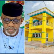 Photos of the fire station project of Prince Dapo Abiodun at Isheri, Ifo L.G.A.