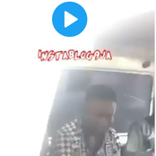 Video: She slapped him after she caught him molesting her from behind in a bus, See what he did