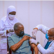 Check Out Photos Of Yemi Osinbajo Receiving The Corona Virus Vaccine That Got People Talking.