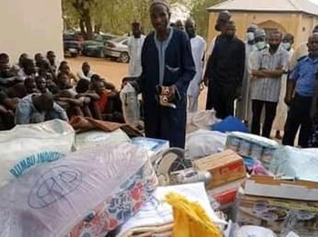 One of the wives of Islamic cleric who looted Katsina market during inferno behind his arrest