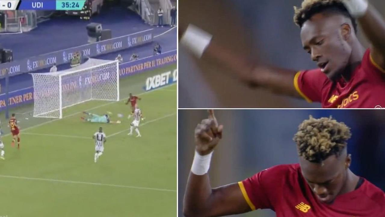 Tammy Abraham is fast becoming an AS Roma hero after leaving Chelsea