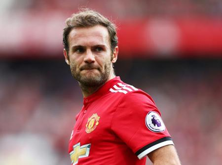 Juan Mata Ruled Out Of The Match Against Chelsea Football Club On Sunday.