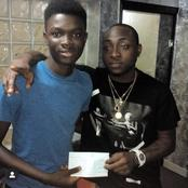After Davido Support His University Studies, See How This Guy Is Doing Now