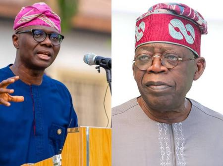17 Hours After He Turned 69, Check Out What Sanwoolu Wrote About Tinubu That Stirred Reactions