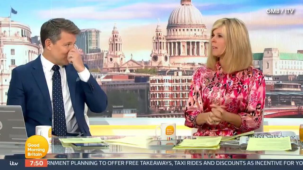 ITV Good Morning Britain: Kate Garraway has studios in stitches over story of 'horse with bad wind'