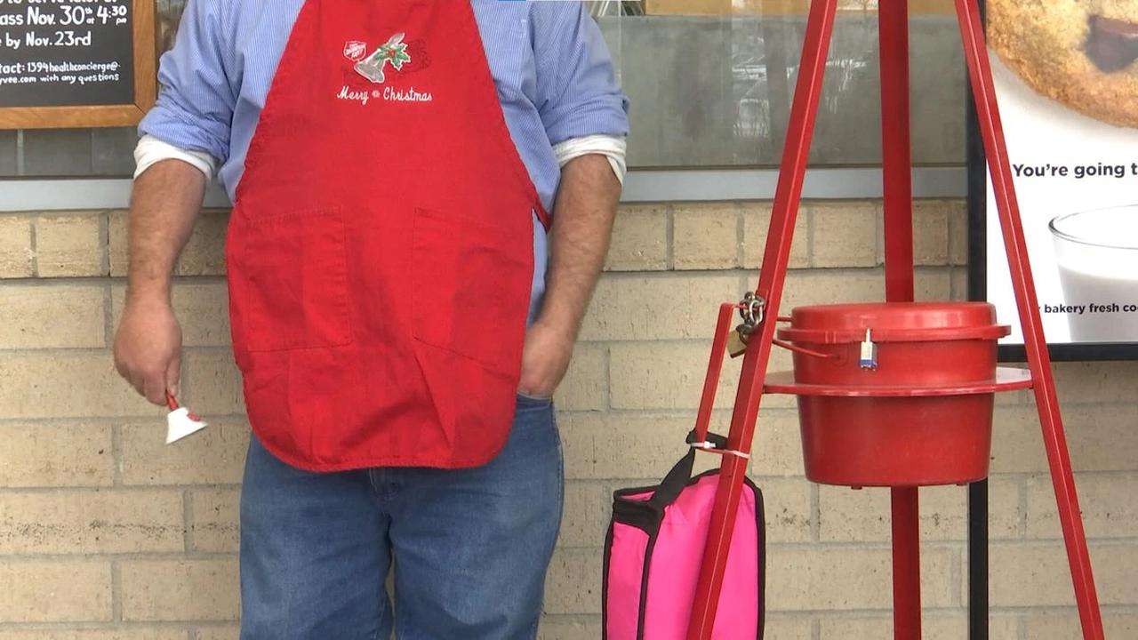 Salvation Army to extend Red Kettle program as campaign suffers 30% deficit