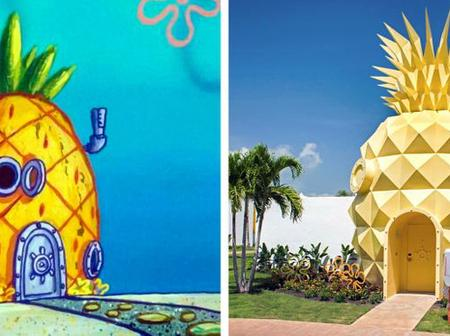10 Cartoon Houses That Were Built In Real Life