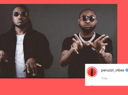 Peruzzi Shares Lovely Photos Of Himself As He Was Spotted With DMW Boss Davido (Mixed Reactions).
