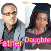 Meet The Daughter Of Nollywood Actor Fred Amata, Who Has A Striking Resemblance With Him