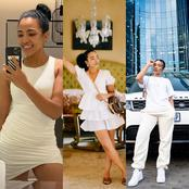 Check out all the times Skeem Saam actress turned heads in white outfits.