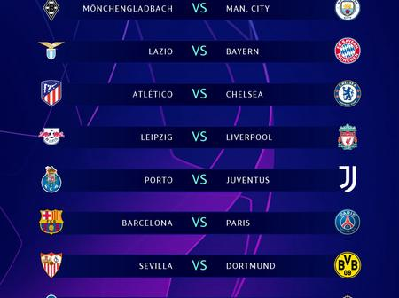 By looking at the fixture which team will take this year's champions League?