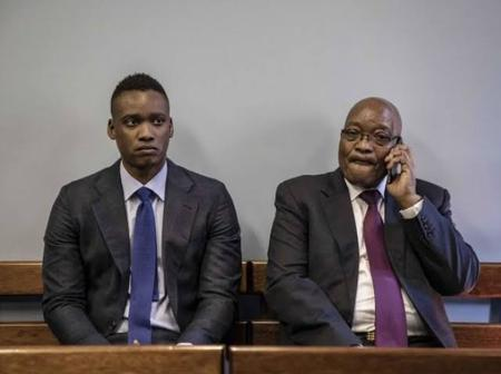 Like father like son, it's business as usual with JG Zuma and Duduzane Zuma