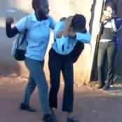 The World Is Coming To An End, Another Video Of A Student Being Beaten Up By A Fellow Student