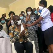 Ministry of Health Official Becomes The First Kenyan to Receive Covid-19 Vaccine