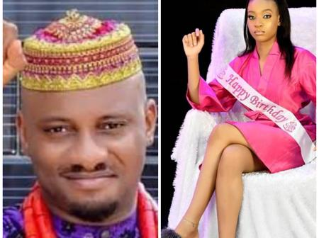 Yul Edochie Shares Lovely Photos of His Daughter