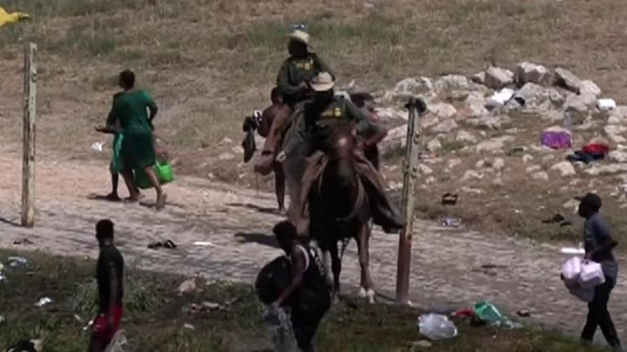 White House responds to 'horrific' photos of Texas border agent on horseback with 'whip' to deter migrants