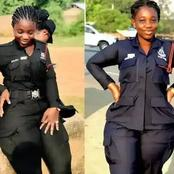 Meet The Police Woman Who Is Called The Most Beautiful And Curvy Police Officer In Africa (Photos)