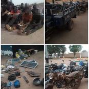 La gendarmerie nationale arrête 17 orpailleurs clandestins à Kong / un fusil et des cartouches saisis