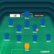 Chelsea Possible Lineup Next Season.
