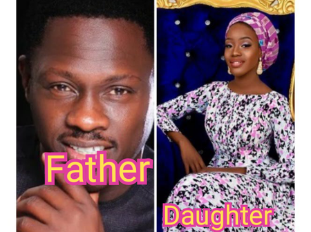 Meet The Daughter Of Nollywood Actor Ali Nuhu, Who Has A Striking Resemblance With Him