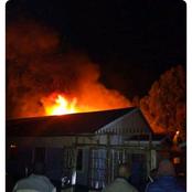 A Kenyan High School On Fire