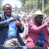 What a Huge Crowd Did After DP Ruto Finished His Speech in Narok (Video)