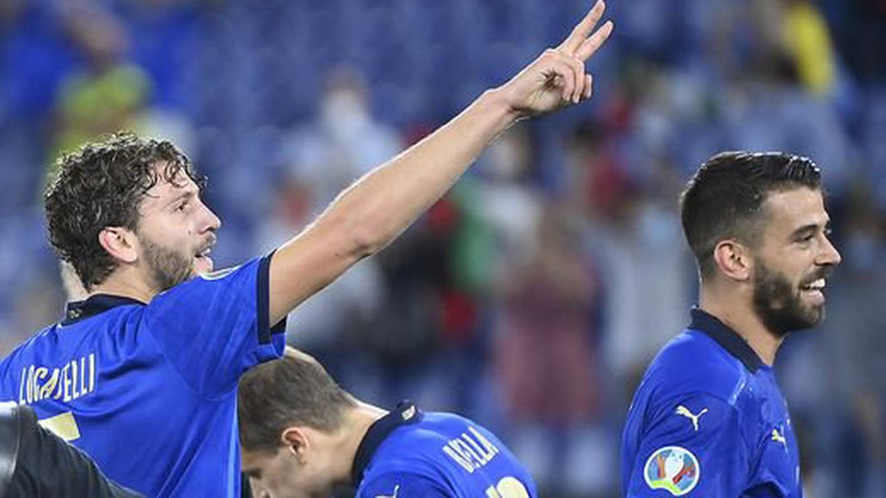 Italien - Schweiz 3:0: Die Italiener holen sich das erste Ticket für das Achtelfinale