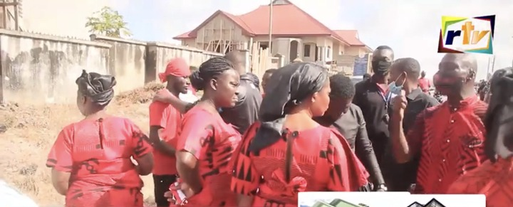 5a697fc39138f905b7468de4947d0069?quality=uhq&resize=720 - Sad: Scenes from the KNUST Uber driver funeral who was murdered by a final year student(Photos)