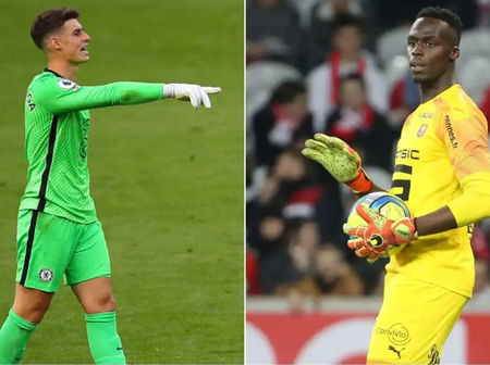 Check out what Eduoard Mendy said about Kepa after being named Chelsea's no 1.