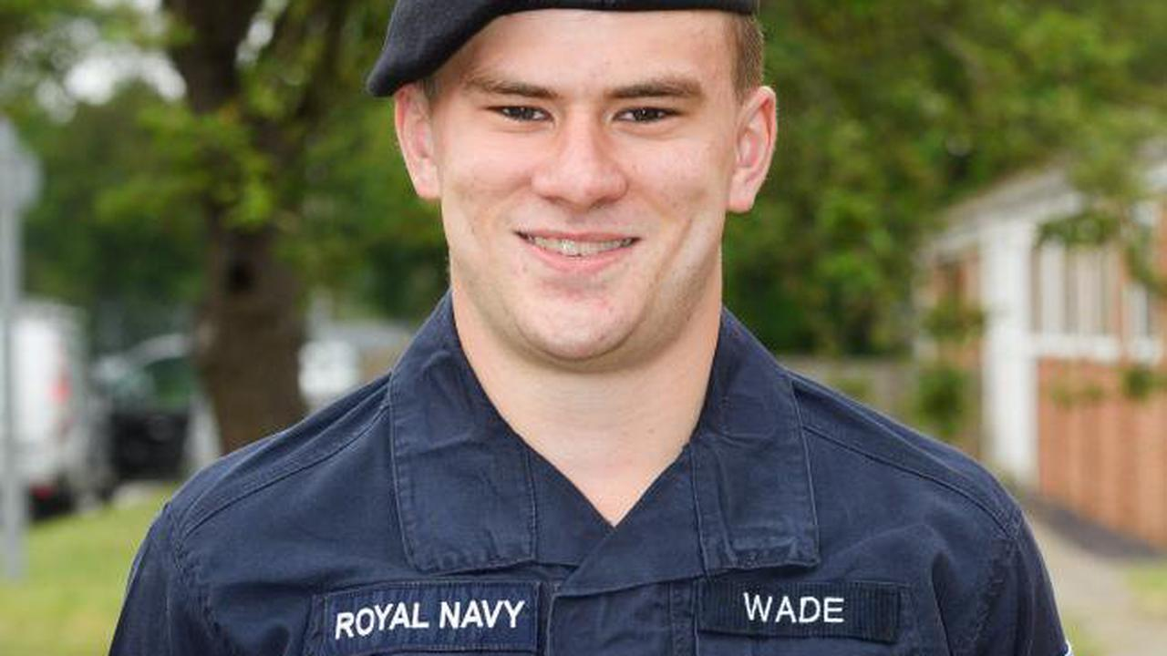 Leckford student sails through basic training as he joins Royal Navy