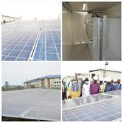 Photos: Federal University of Petroleum Resources (FUPRE) Completes Hybrid Solar Projects