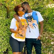 King Kaka's Wife Nana Owiti Wows Netizens After Posting A Photo Donning Matching Outfits With Hubby