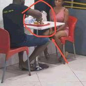 Checkout what this man was caught doing to a lady he took outing, and how people reacted