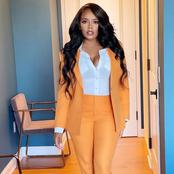 In Pics - See how Angela Simmons served us style goals in this beautiful suit.