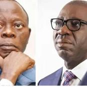 Obaseki meets Oshiomhole in Auchi, says no personal grudge against him