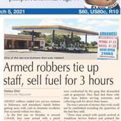 Haibo Zimbabwe has very funny cases of armed robbers who doesn't cause any harm to their victims