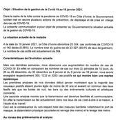Covid-19 : voici les nouvelles mesures de restriction proposées par le comité de veille