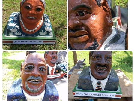 Ndio Huyu! Check Out Picture of The Man Who Did These Arts