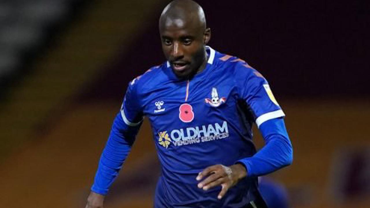 Dylan Bahamboula expected to lead Oldham attack against Colchester