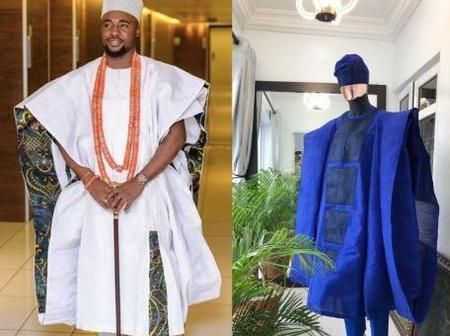 See Latest Agbada Design For Men