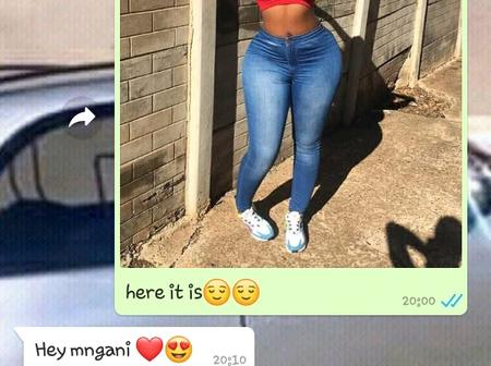 She wanted to go to a Chesanyama see her chat with her male friend