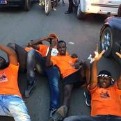 Législatives à Daloa: la parade finale du candidat du RHDP dans les rues est très impressionnante.