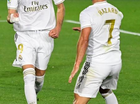 Modric, Benzema and Marcelo react after Real Madrid release update on Eden Hazard (Photo)