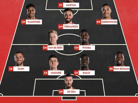 Superb Manchester United Lineup That Could Be Use By Ole Against Newcastle This Saturday