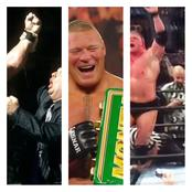 Meet the only three wrestlers to have won the Royal Rumble, money in the bank and king of the ring