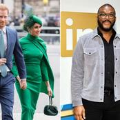 Tyler Perry Gets Praises For Rescuing Prince Harry And Meghan Markle When In Distress