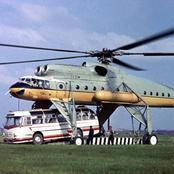 L'hélicoptère le plus lourd et le plus grand jamais construit en série au monde