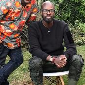 Finally black coffee 's hand is out of the pocket